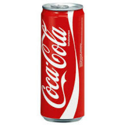 Coca Cola dobozos 330 ml ( 0,33 l) Szénsavas Üdítőital
