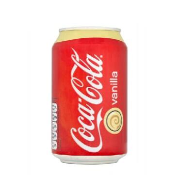 Coca Cola dobozos 0,33 L Vanília