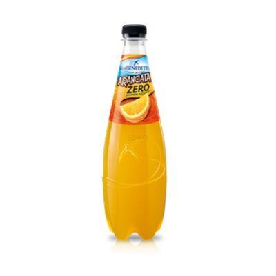 San Benedetto ZERO Cukormentes Szénsavas Üdítőital 750ml (0,75 L) Aranciata Narancs