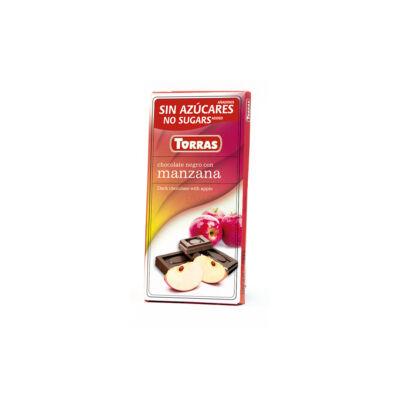Torras Almás étcsokoládé hozzáadott cukor nélkül 75g