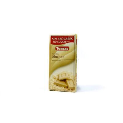 Torras Goji bogyós fehércsokoládé hozáadott cukor nélkül 75g