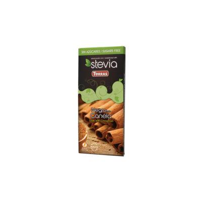 Torras STEVIA Fahéjas étcs hozáadott cukor nélkül, édesítőszerrel 125g