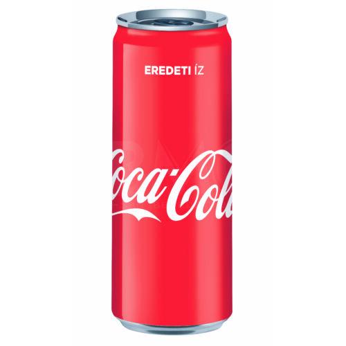 Coca Cola dobozos 250 ml ( 0,25 l) Szénsavas Üdítőital