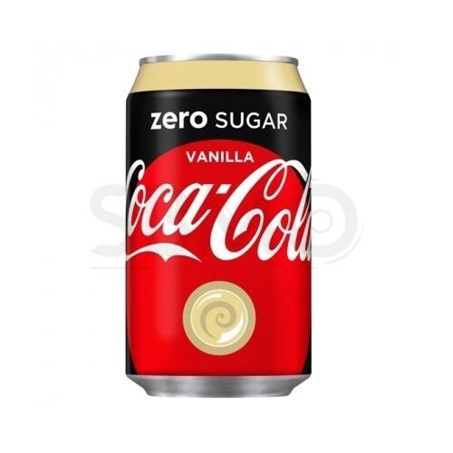 Coca Cola Dobozos 0,33 L Vanília ZERO Cukormentes