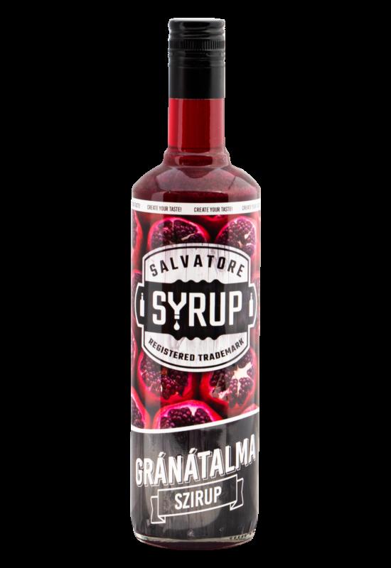 Salvatore Syrup Gránátalma szirup 4l