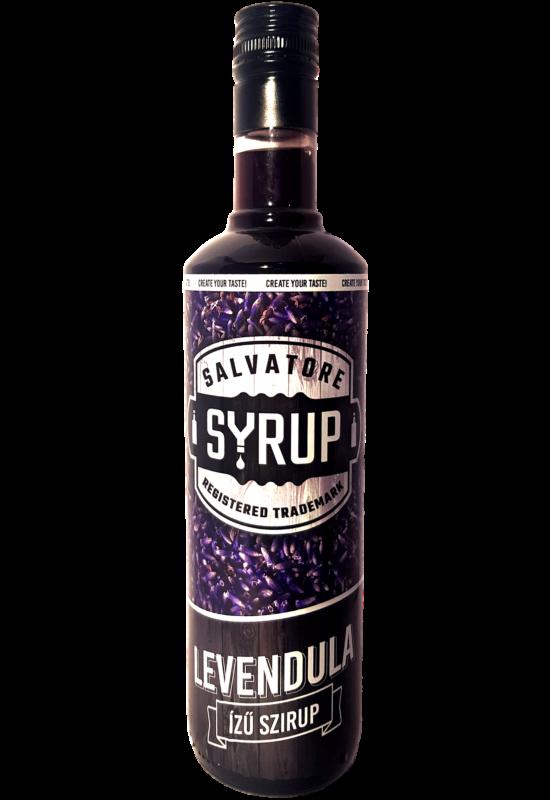 Salvatore Syrup Levendula szirup 0,7l