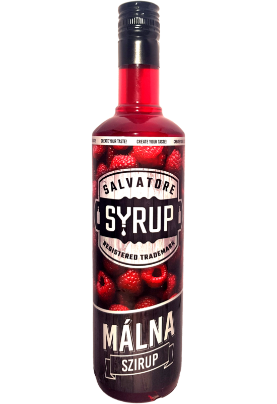 Salvatore Syrup Málna szirup 0,7l