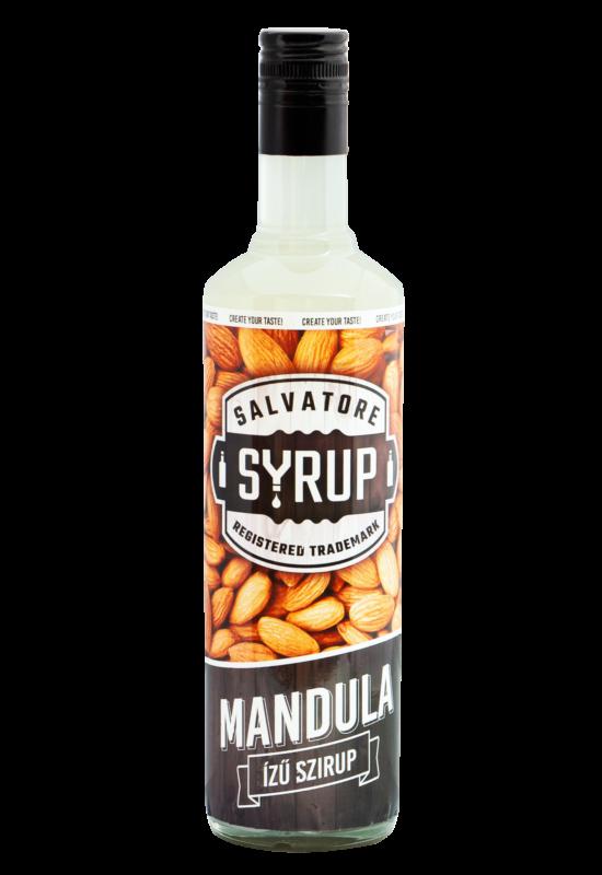 Salvatore Syrup Mandula szirup 0,7l