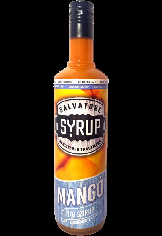 Salvatore Syrup Cukormentes Mangó szirup 4l