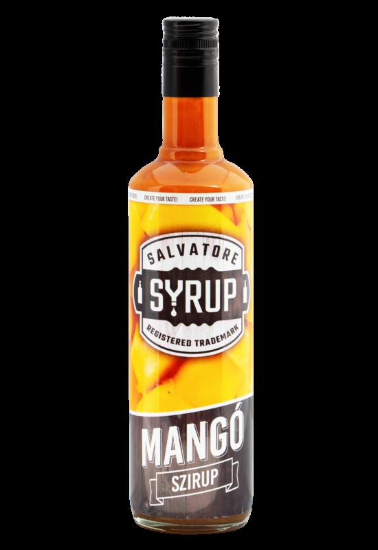 Salvatore Syrup Mangó szirup 4l