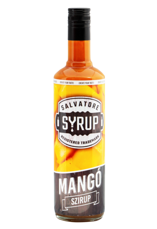 Salvatore Syrup Mangó szirup 0,7l