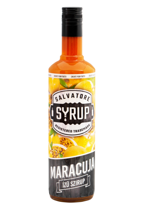 Salvatore Syrup Maracuja (Passion Fruit) szirup 4l
