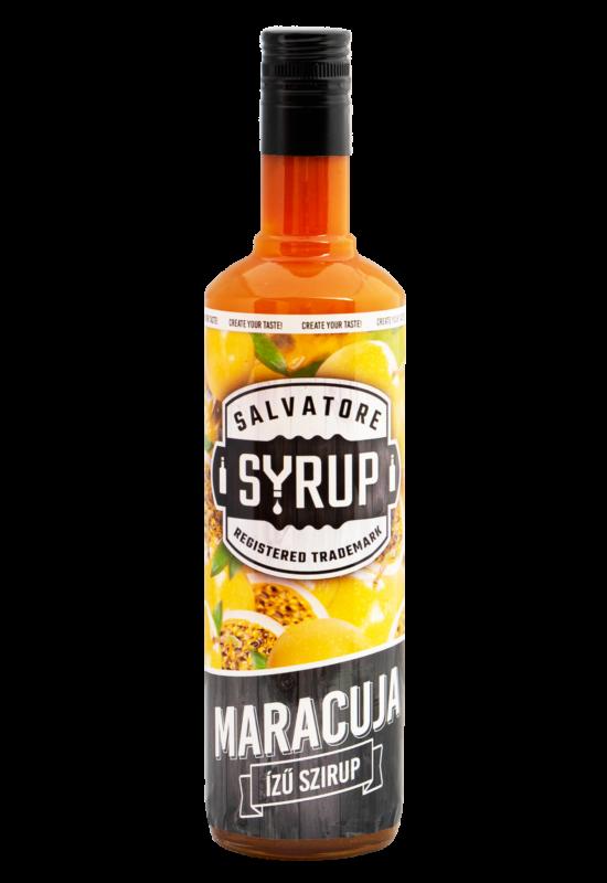 Salvatore Syrup Maracuja (Passion Fruit) szirup 0,7l