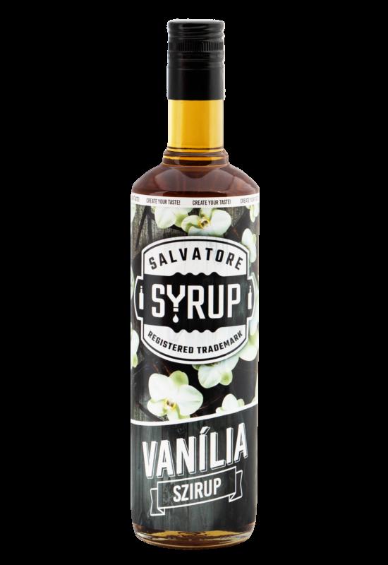Salvatore Syrup Vanília szirup 0,7l