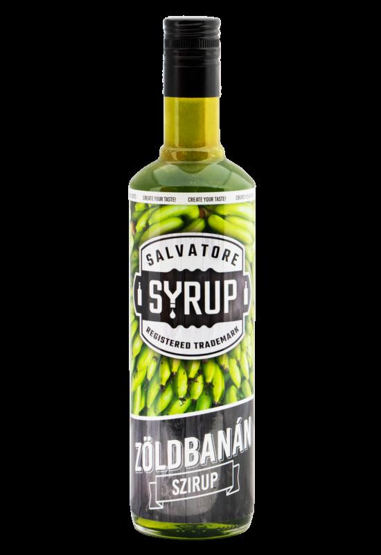 Salvatore Syrup Zöldbanán szirup 0,7l