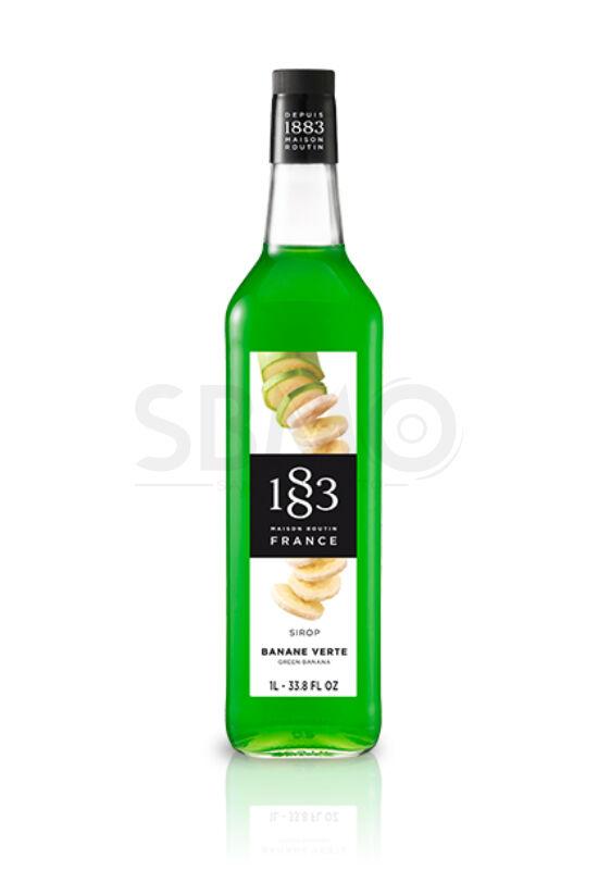 1883 Szirup 1l Zöld Banán