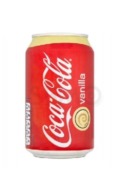 Coca Cola Vanília dobozos 355 ml (0,355 L) Vaníliás Szénsavas Üdítőital