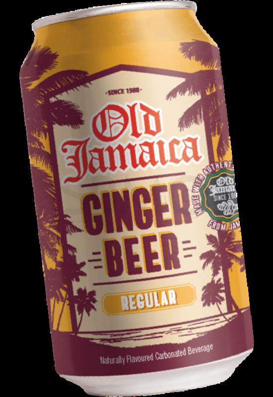 Old Jamaica Ginger Beer Dobozos Alkoholmentes Gyömbérsör 0,33 L