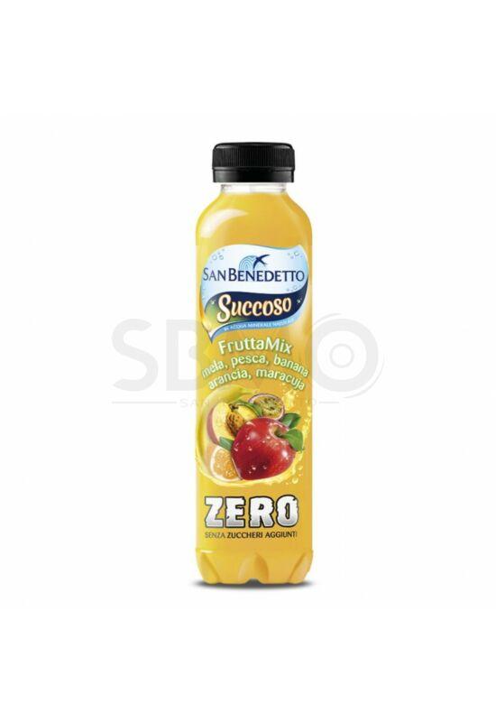 San Benedetto Succoso ZERO Cukormentes Frutta Mix Vegyes gyümölcsös 400ml (0,4 L) Szénsavmentes Üdítőital