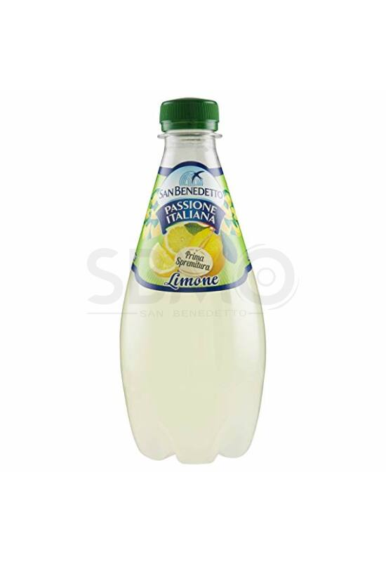 San Benedetto Prima S. Limone Citrom 0,4 L (400 ml) Szénsavas Üdítőital