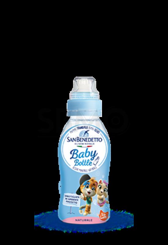 San Benedetto baba Baby Víz Sportkupakos Forrásvíz 250ml (0,25 L)