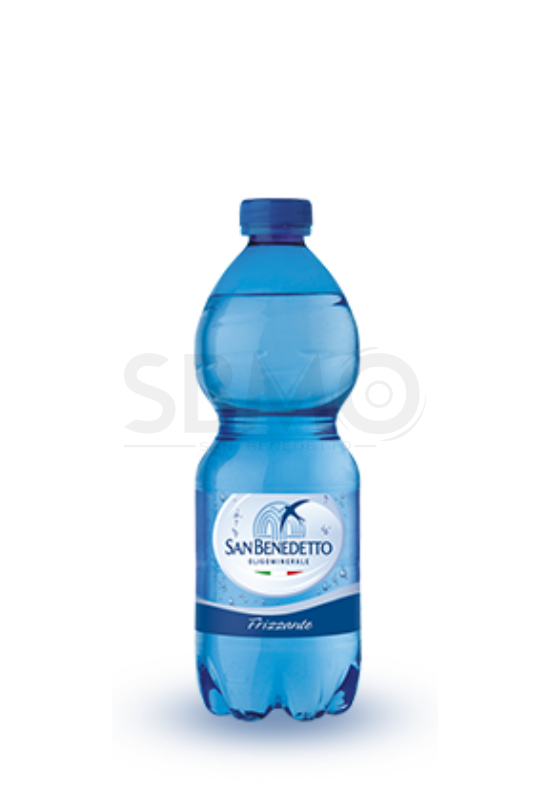 San Benedetto Szénsavas Ásványvíz Forrásvíz 500ml (0,5 L) Frizzante