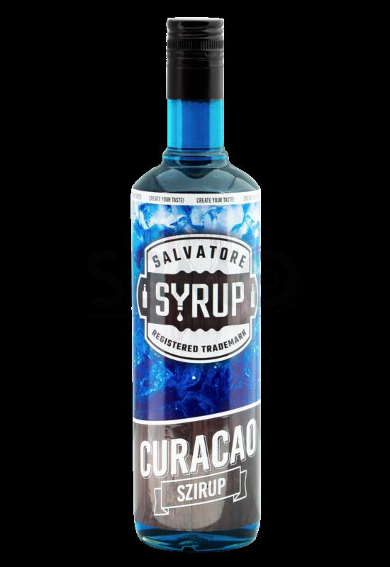 Salvatore Syrup Blue Curacao szirup 0,7l
