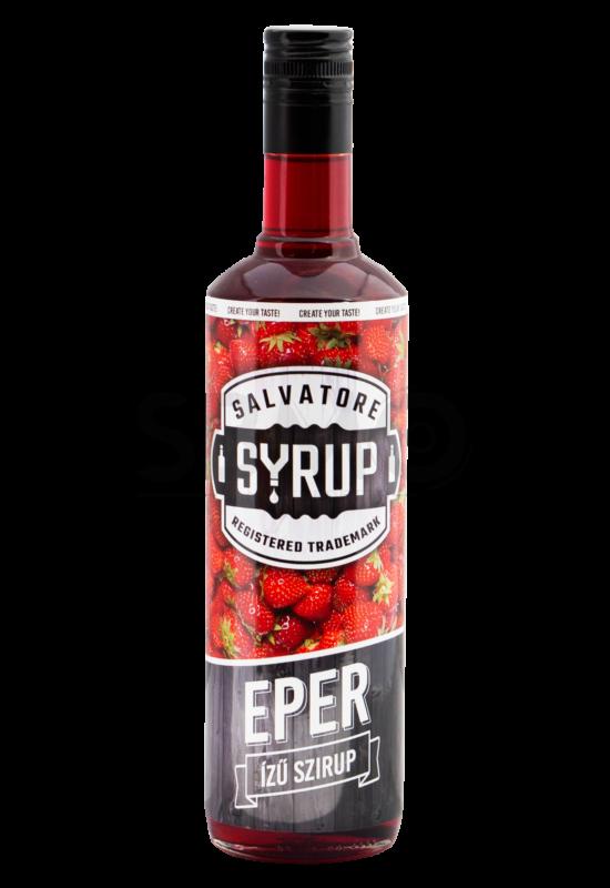 Salvatore Syrup Eper szirup 0,7l