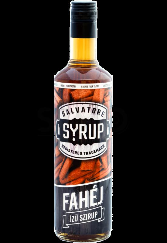 Salvatore Syrup Fahéj szirup 0,7l