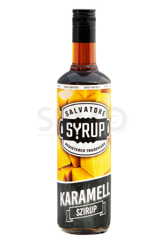 Salvatore Syrup Karamell szirup 4l