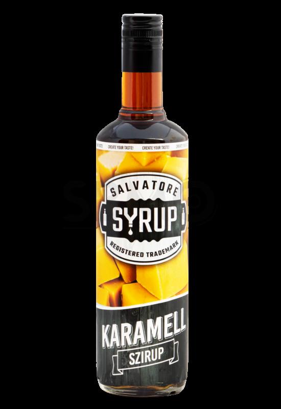 Salvatore Syrup Karamell szirup 0,7l