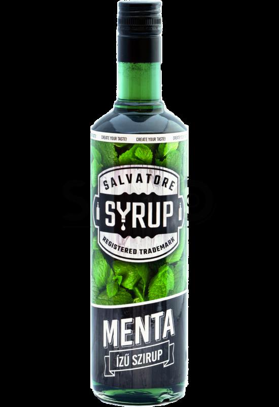 Salvatore Syrup Menta szirup 4l