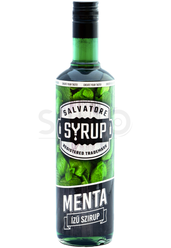 Salvatore Syrup Menta szirup 0,7l