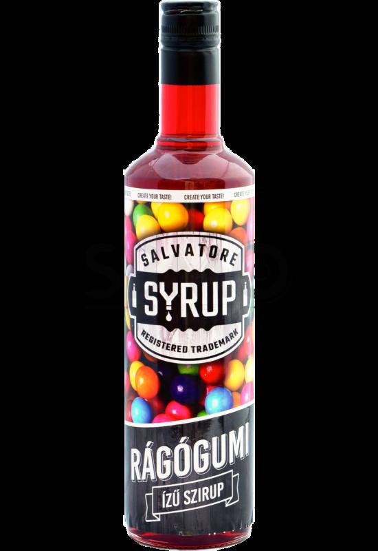 Salvatore Syrup Rágógumi szirup 0,7l