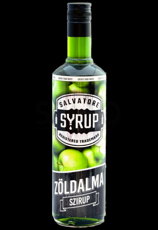 Salvatore Syrup Zöldalma szirup 0,7l