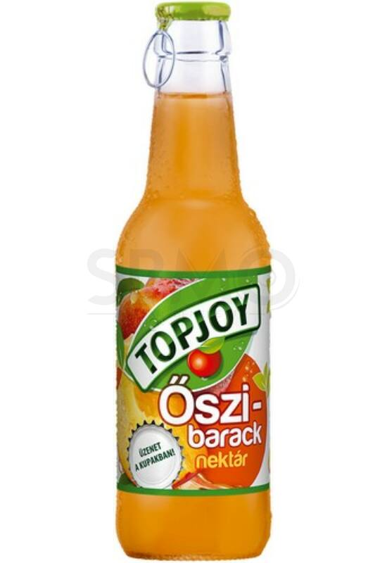 Topjoy 250ml Öszibarack Nectar