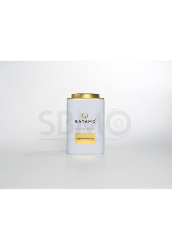 Gatamo-English Breakfast tea 100g fémdobozban